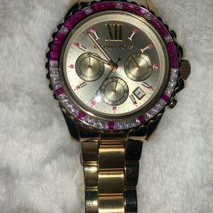 Michael Kors Champaigne Dial Watch